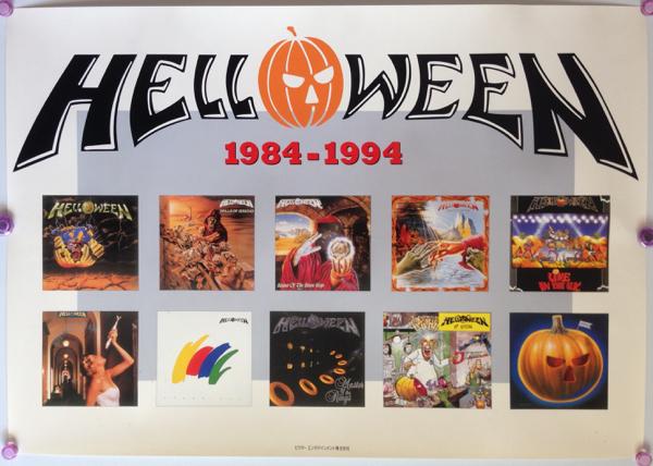 ハロウィン/ALBUM COVER 1984-1994プロモ・ポスター(非売品)