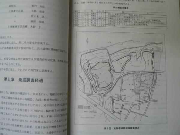 城郭 史跡根城跡発掘調査報告書12/1990年/青森県八戸市/附図_画像3