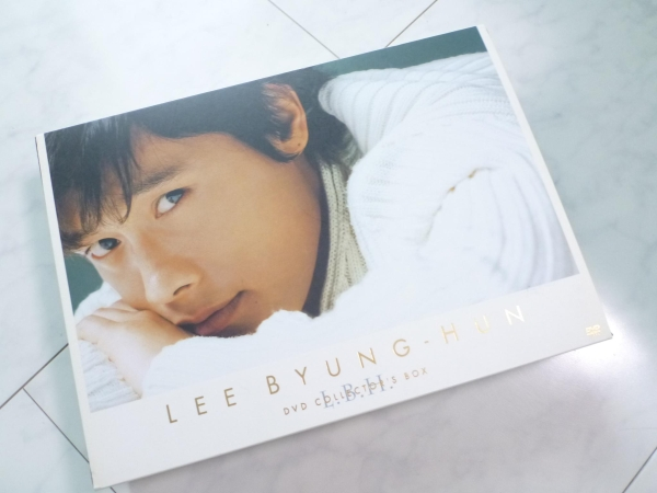 LEE BYUNG-HUN イ・ビョンホン DVD COLLECTOR'S BOX 定価12000円