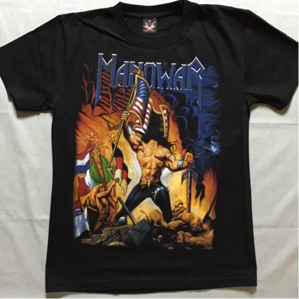 バンドTシャツ  マノウォー(MANOWAR)新品L