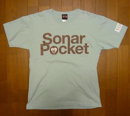 ソナーポケット『 JAPAN TOUR 5th Anniv.SP Tシャツ 』