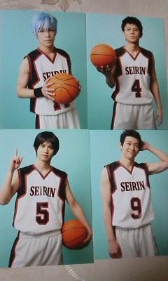 誠凛セットB 舞台 黒子のバスケ 学校別写真5枚【即決】小野賢章