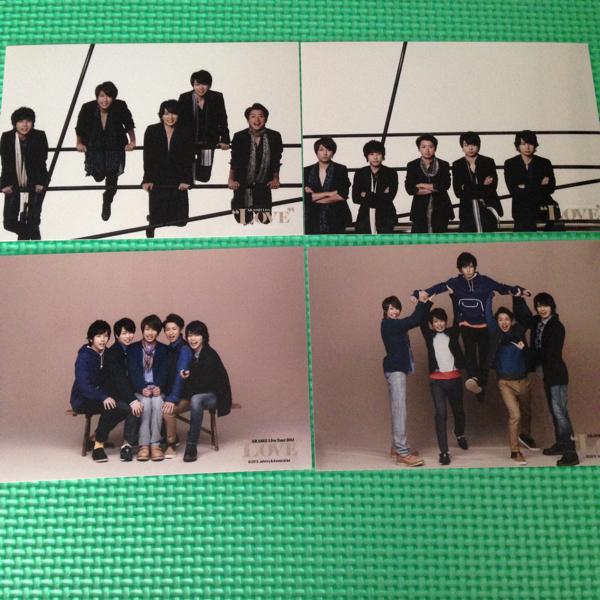 公式写真☆嵐 2013年 LOVE ツアーフォト