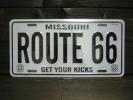ルート66 プレート 看板 アメリカ ミズーリ州 サイン
