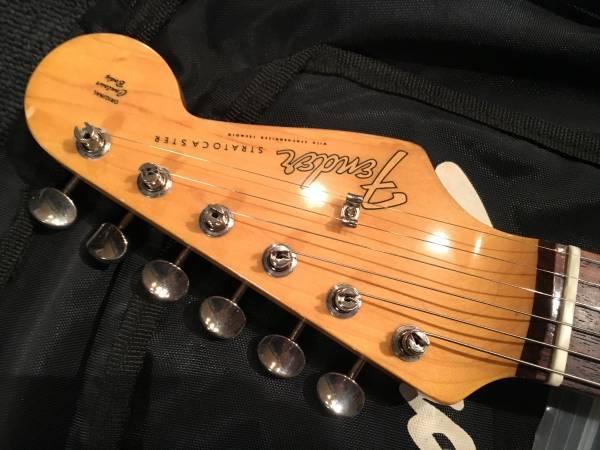 レアカラーです!Fender Japan ST65TX ISL/R No.080916 Crafted IN JAPAN_画像3