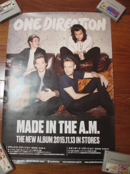 ONE DIRECTION MADE IN THE A.M. 告知ポスター 送料込み