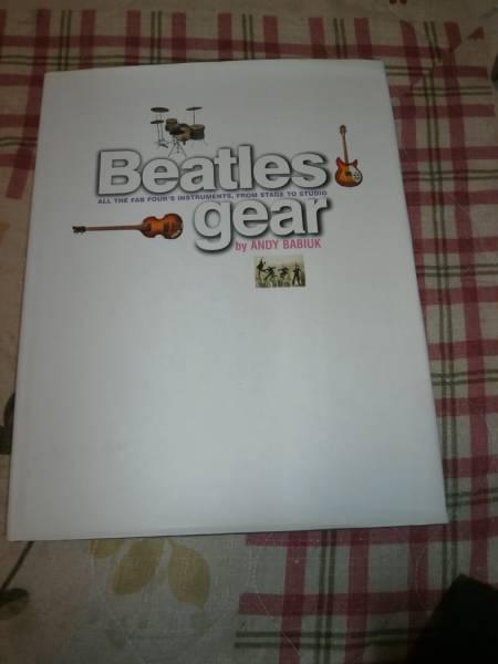 OK06 洋書 BEATLES GEAR ビートルズ ギア  ライブグッズの画像