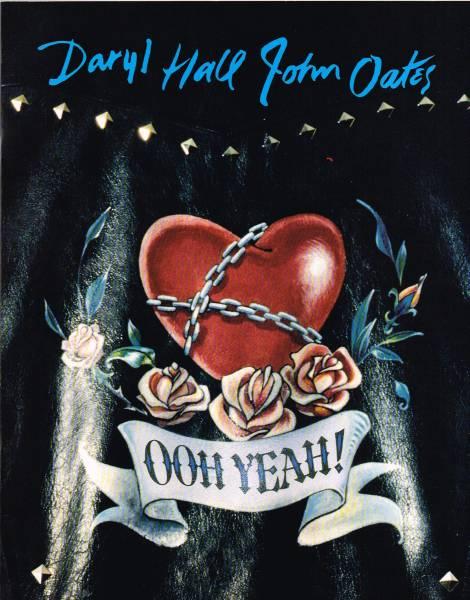 ★超美品★ ホール&オーツ 1988年ツアーパンフレット