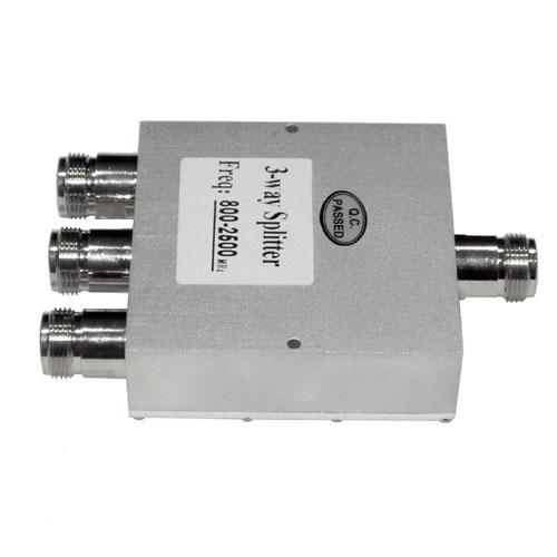 800MHz~2500MHz対応★シグナルスプリッター 3分配器 NJ