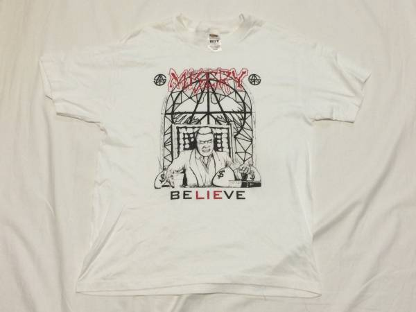 レア MISERY ミザリー Tシャツ メタルクラストハードコア AMEBIX