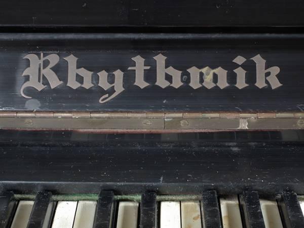 T086. 稀少 裸のラリーズ使用 ピアノ 象牙 楽器 / アンティーク_画像3