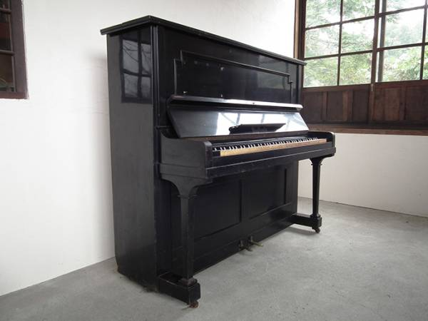 T086. 稀少 裸のラリーズ使用 ピアノ 象牙 楽器 / アンティーク