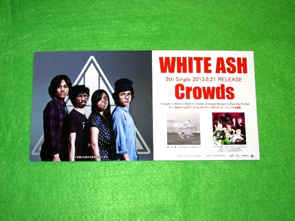 t 告知ポップ POP [Crowds] WHITE ASH