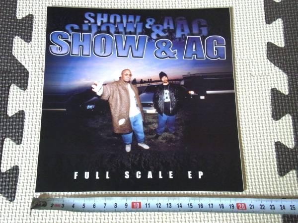 SHOWBIZ & AG - FULL SCALE EP ステッカー