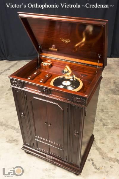 クレデンザ Victrola Credenza 初期真鍮製サウンドボックス_画像2
