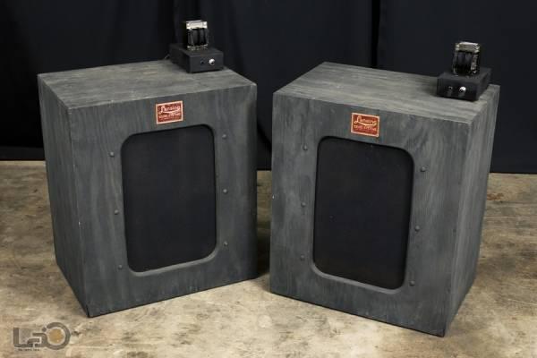 LANSING ランシング 604 フィールド型SP 20Ω + 612 黒箱 ペア