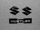 ●ハスラー(MR31S)エンブレム3点セット(グロスブラック)