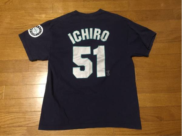 MARINERS ICHIRO マリナーズ イチロー 51 Tシャツ US M グッズの画像