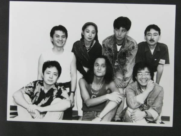 イカ天 福田真澄&スーパーミルク 宣伝用スチール写真 2枚 89年