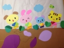 即決1800円 大きい 壁面飾り 秋 芋掘り 保育園 幼稚園 小児科