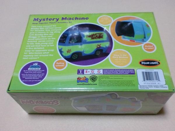 ポーラライツ スクービードゥー ミステリーマシーン Scooby-Doo The Mystery Machine POLARLIGHTS 814_画像2