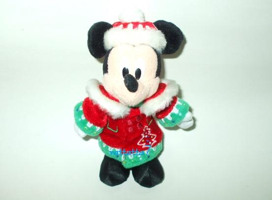 ☆TDL☆Disney☆Micky Mouse☆2012 クリスマス☆ミッキーマウス☆ぬいぐるみ☆ヌイグルミ☆東京ディズニーランド_画像1