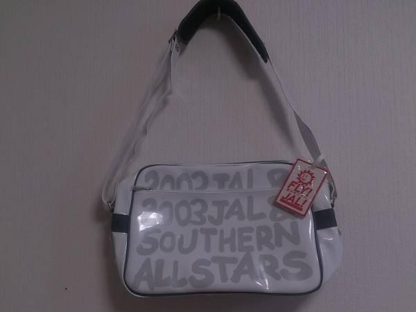 ♪2003 JAL&サザンオールスターズ エナメルバッグ BAG♪