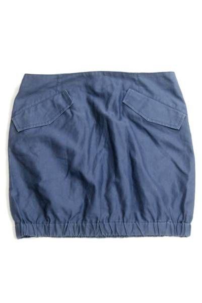 KIN DRESS MAKER キン ミニ スカート コットン ナイロン LC9990_画像1