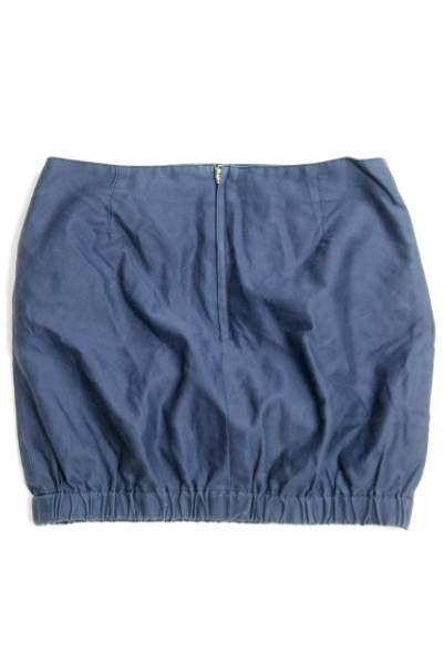 KIN DRESS MAKER キン ミニ スカート コットン ナイロン LC9990_画像2