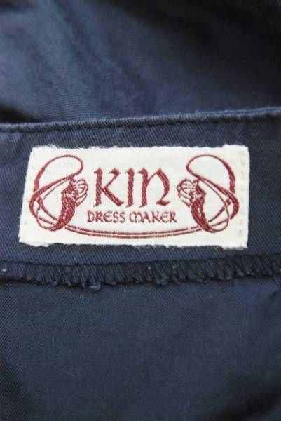 KIN DRESS MAKER キン ミニ スカート コットン ナイロン LC9990_画像3