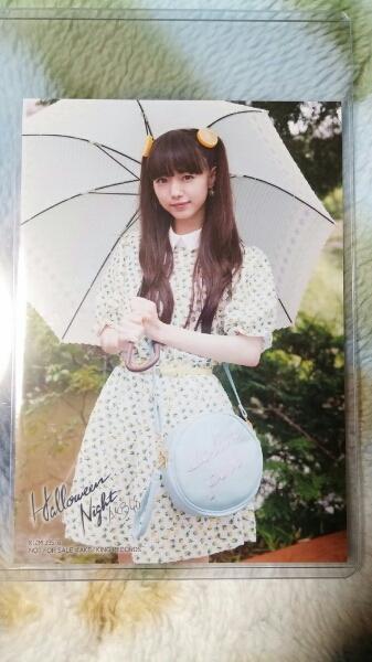 NMB48市川美織 ハロウィンナイト通常盤封入生写真