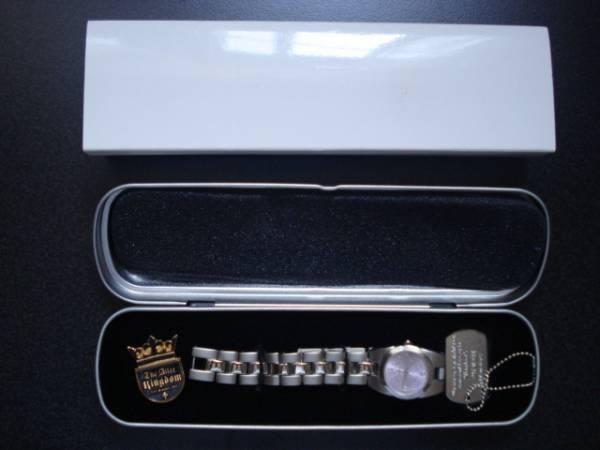 THE ALFEE アルフィー 腕時計 ピンバッジ ドッグタグ 3点セット