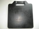 新品アウトリガー敷き板4枚(ゴム材100%)ユニック車使用OK