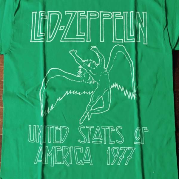 ♪新品★レアLed Zeppelin Tシャツ 天使 Tour1977/ロックバンド