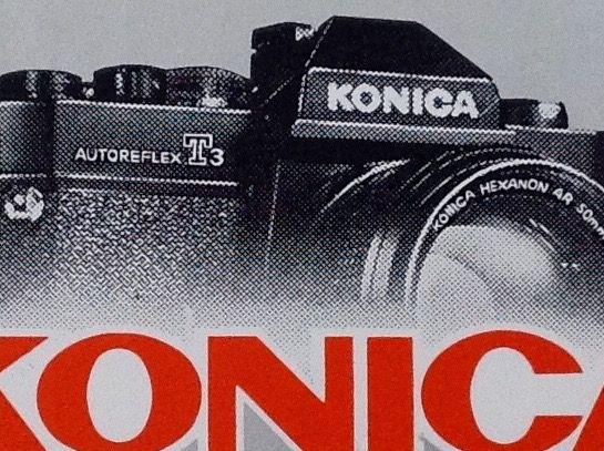 フランスのステッカー:コニカ ビンテージ カメラ 一眼レフ 車 +Bb_画像2