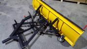 凡用 スノープラウ ハイド板 排土板 175cm 未使用
