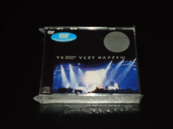 新品 V6 VERY HAPPY !!! 初回封入特典・フォトブックレット付 コンサートグッズの画像