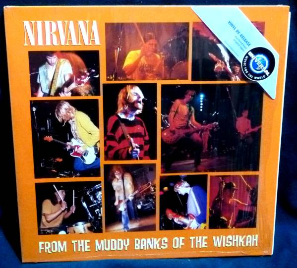 ◇ NIRVANA From The Muddy Banks Of The Wishkah/2 LP_画像1