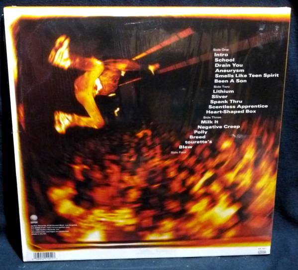 ◇ NIRVANA From The Muddy Banks Of The Wishkah/2 LP_画像2