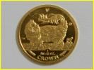 K24 金貨 マン島 キャット コイン 1/10oz 1993年 3.16g 招き猫 純金