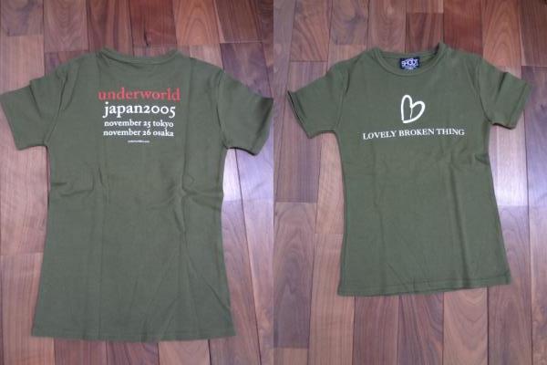 バンドTシャツ 2005ツアー アンダーワールド レディース美品