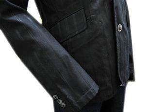 新品★シャドーストライプボタンジャケット L☆限定数1_画像3