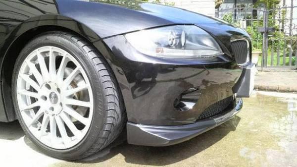 新品 BMW Z4 E85 前期 カーボンリップスポイラー フロントリップ 3分割 エアロワークス_画像2