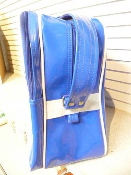UMBRO スポーツバッグ (ブルー×ホワイト)_画像2