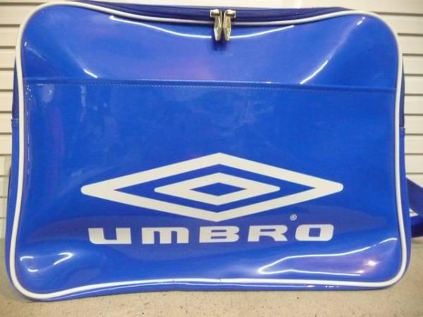 UMBRO スポーツバッグ (ブルー×ホワイト)_画像1