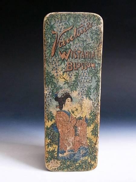 明治時代 香水 布張り 化粧箱 ◆ オールド ジャパン_明治時代 香水 布張り 化粧箱