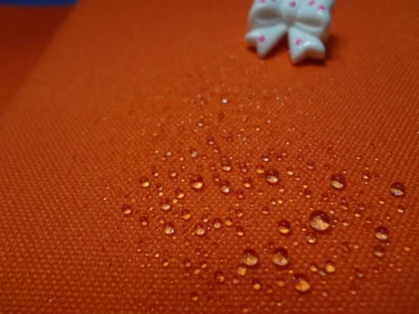 帆布 10号 防水 オレンジ 92cm巾×150cm ★キャンパス★生地★即決★B品★ハギレ★