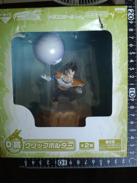 非売品☆ドラゴンボール改☆ベジータ☆クリップホルダー☆残1_画像1