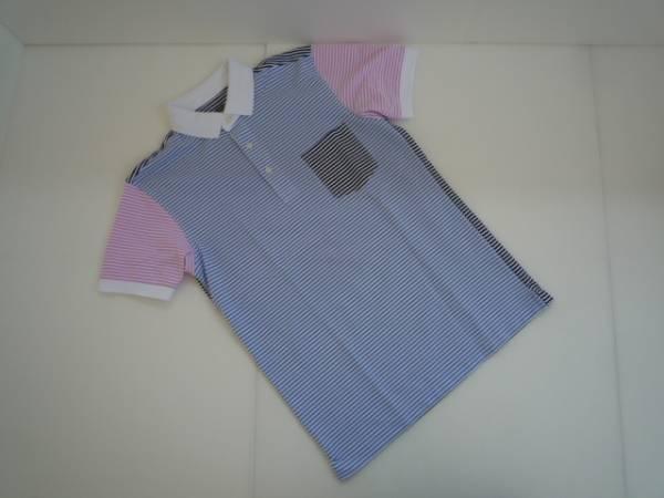 【美品!!】◆ユニクロ/UNIQLO◆ ポロシャツ ボーダー 半袖 S