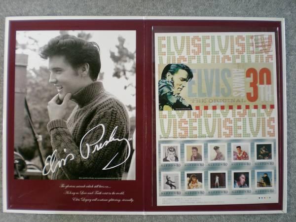 エルビス没後30周年特別企画品「フレーム切手」 平成19年製 新品